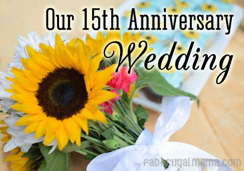 What Is The 15th Wedding Anniversary Gift: Our 15th Anniversary Wedding: #NikonMOMents Part 2