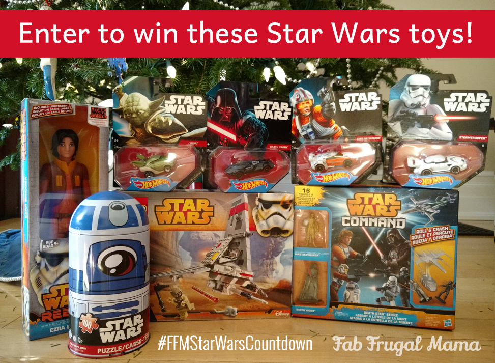 Star Wars toys giveaway